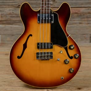 Gibson EB-2D Sunburst 1968