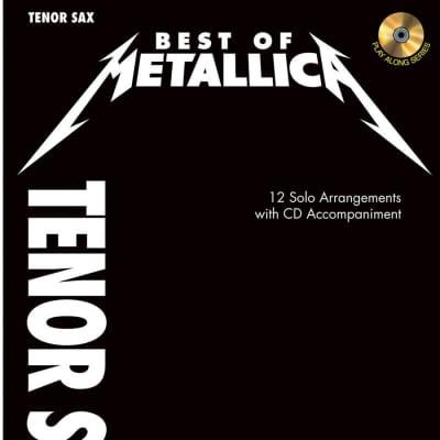 Best of Metallica - Tenor Saxophone w/CD
