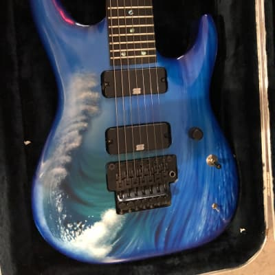 Custom STHAC 7 string with Duncan's
