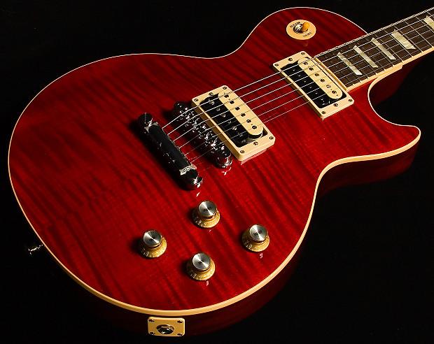 used gibson slash rosso corsa les paul electric guitar reverb. Black Bedroom Furniture Sets. Home Design Ideas