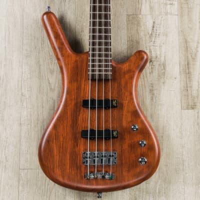 Warwick German Pro Series Corvette 4-String Bass Guitar, Bubinga Body, Wenge Fingerboard, Natural Tr