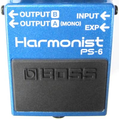 Boss PS-6 Harmonist Guitar Pedal