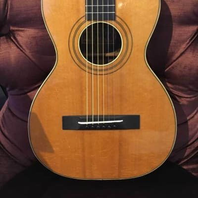 The Incomparable Harwood Guitar Circa 1900's w/Case (Pre-Owned) (Glen Quan Private Collection) for sale