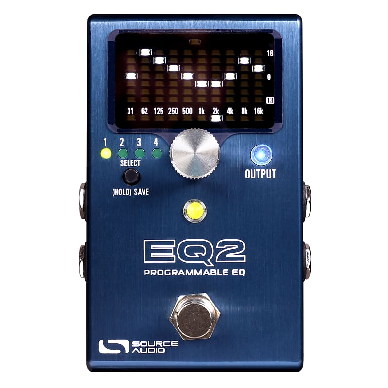 Source Audio SA270 One Series EQ2 Programmable EQ Effects Pedal