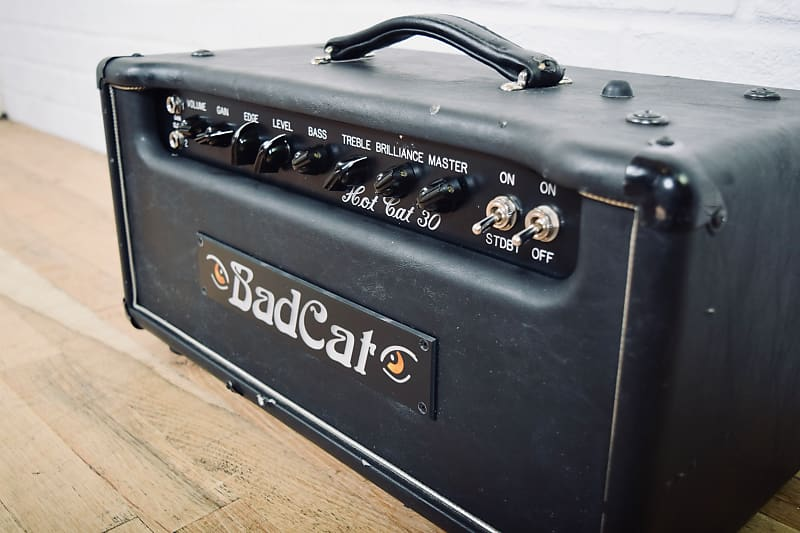 bad cat hot cat 30 tube guitar amp head in good reverb. Black Bedroom Furniture Sets. Home Design Ideas