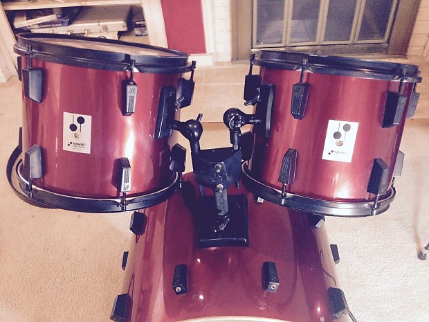 Sonor Panther 4 Piece With Matching Original Black Reverb