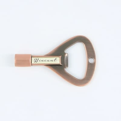 Wincent RockKey In Relic Finish, Drum Key and Bottle Opener