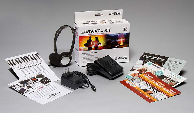 yamaha survival kit b accessories package skb psr reverb. Black Bedroom Furniture Sets. Home Design Ideas