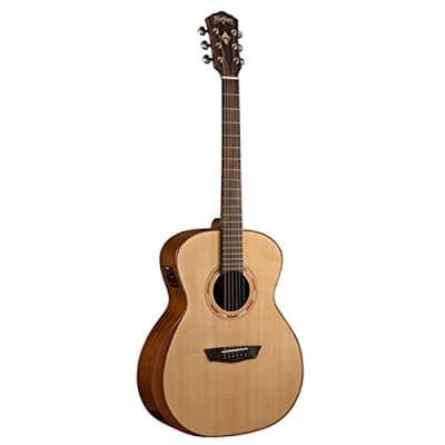 Washburn WCG10SENS Comfort Series Grand Auditorium Acoustic-Electric Guitar