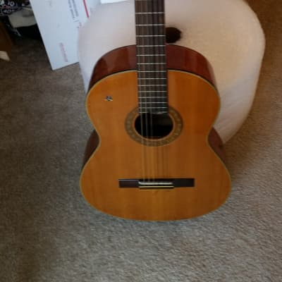 Orlando classical nylon string guitar 1970s/80s acoustic electric added for sale