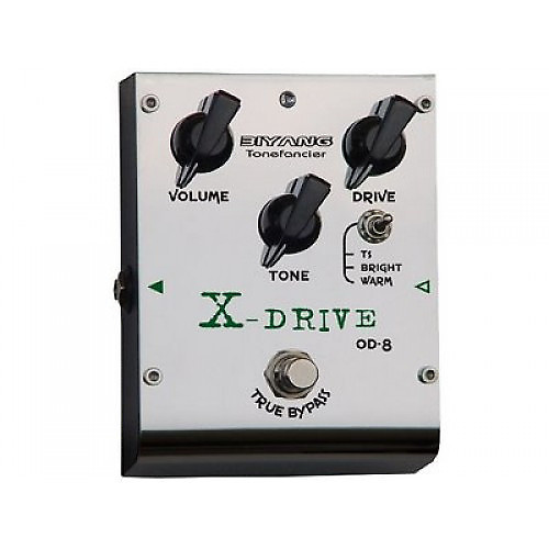 new biyang od 8 x drive overdrive pedal 3 swappable chips reverb. Black Bedroom Furniture Sets. Home Design Ideas