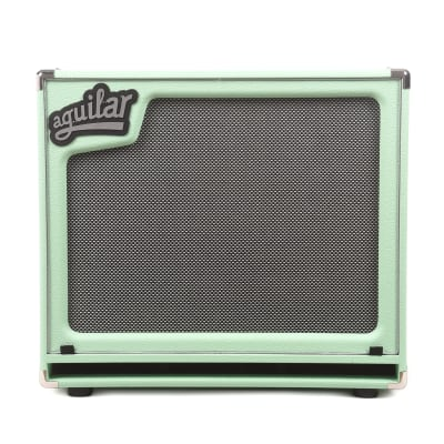 Aguilar Limited Edition SL 115 Superlight Bass Cabinet 8 ohm Poseidon Green for sale