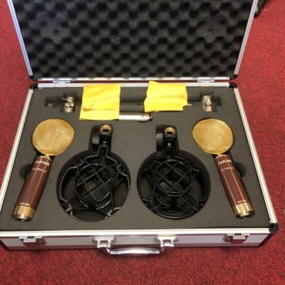 Cascade Fat Head II-SP Ribbon Microphones Stereo Pair