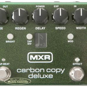 MXR M292 Carbon Copy Deluxe Analog Delay Effect Pedal for sale