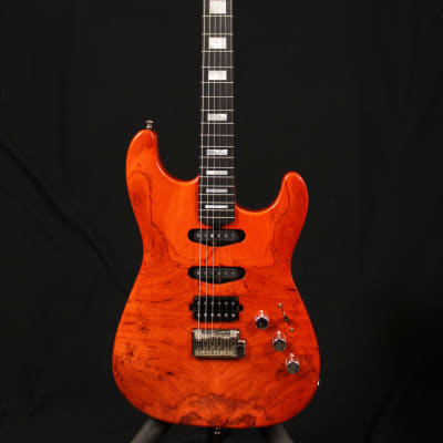 Lakland 65-3S Deluxe  Trans Burnt Orange wOHSC for sale