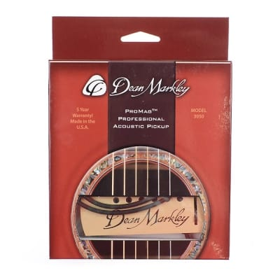 Dean Markley ProMag Professional Acoustic Soundhole Pickup MINT for sale