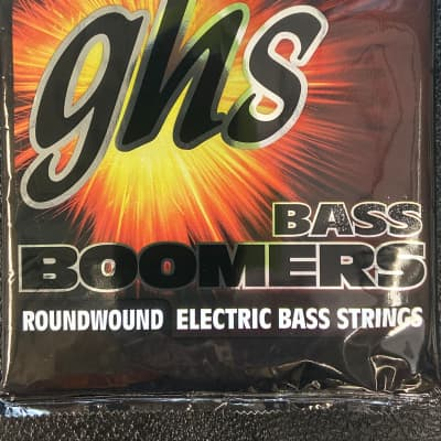 GHS M3045 Bass Boomers Nickel-Plated Electric Bass Strings - Medium Long Scale (045-105)