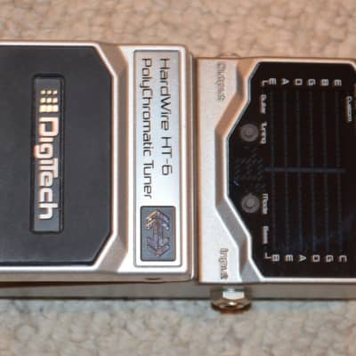 DigiTech Hardwire HT-6 Polychromatic Tuner