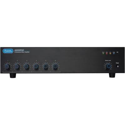 Atlas Sound AA200PHD 6-Input, 200-Watt Mixer Amplifier with Automatic System Test (PHD)