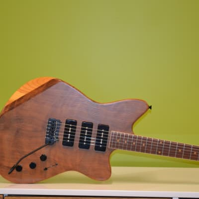 DEPOSIT - StoryWood Music Reclaimed Wood 4R-3 O-Type Custom Offset Guitar