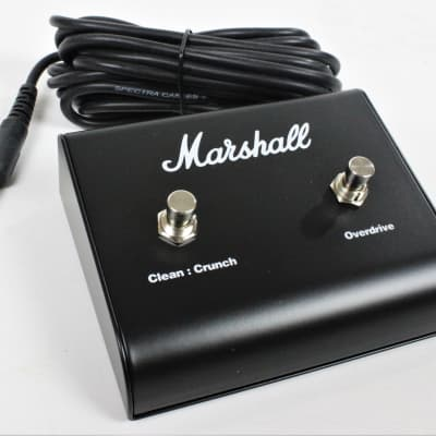 "Marshall 2-Button Footswitch (PEDL-90010) with Attached 1/4"" TS Cable"