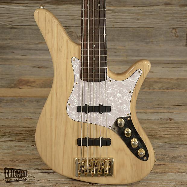 carvin sb5000 five string bass natural used reverb. Black Bedroom Furniture Sets. Home Design Ideas