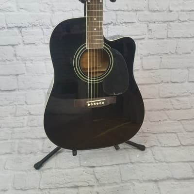 New York Pro NY 977C/BK Acoustic Guitar for sale