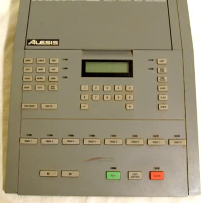 AS-IS Alesis MMT-8 Multi Track MIDI Recorder For Parts Only See Description and Shipping Details
