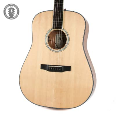 Morgan D Series Dreadnought Mahogany DM in Natural for sale