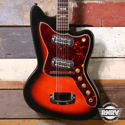 1960's Holiday Silouette Model 1478 Redburst By Harmony for sale