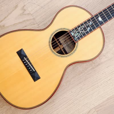 2005 Big Hollow Parlor Acoustic Guitar Brazilian Rosewood w/ohc, Bevan Frost for sale