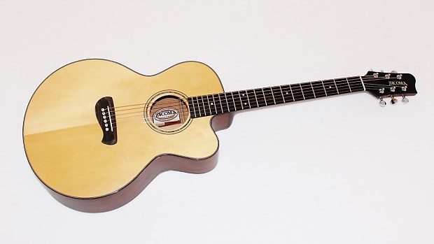 tacoma em14c usa made solid wood acoustic guitar w case reverb. Black Bedroom Furniture Sets. Home Design Ideas