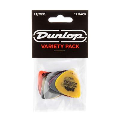 Dunlop PVP101 12 Guitar Pick Variety Pack - Light/Medium
