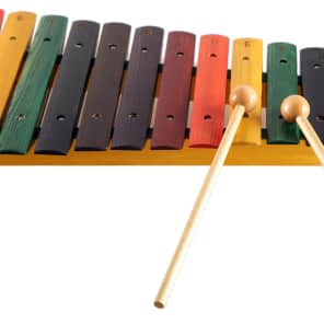 Stagg XYLO-J15 RB 2-Octave Rainbow Xylophone
