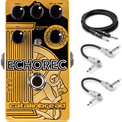 New Catalinbread Echorec Multi-Echo Drum Echo Delay Guitar Effects Pedal!