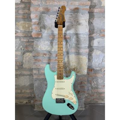 JET GUITARS JS300 SFG - Stratocaster Roasted Maple Neck - Sea Foam Green for sale