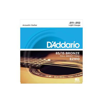 D´Addario EZ-910 Bronze Acoustic Strings 11-52