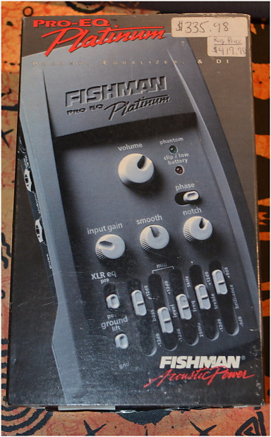 fishman pro platinum eq nos reverb. Black Bedroom Furniture Sets. Home Design Ideas