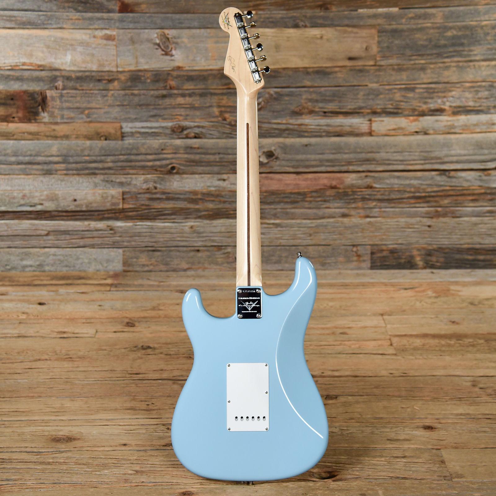 Fender Custom Eric Clapton Signature Stratocaster Daphne Blue 2010 S556