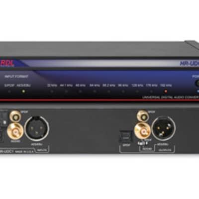 RDL HR-UDC1 Universal Digital Audio Converter - AES/EBU and S/PDIF