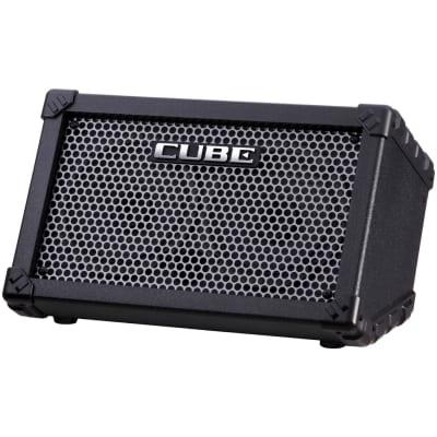 "Roland Cube Street Battery-Powered Stereo Guitar Combo Amplifier (5 Watts, 2x6.5"")"