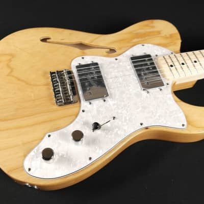Fender Classic Series '72 Telecaster Thinline- Maple Fingerboard- Natural (008) for sale