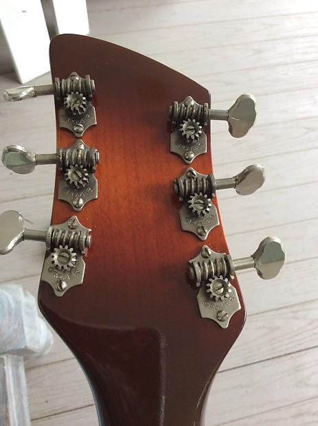 Rickenbacker 325 1958 Two Tone Brown | Reverb