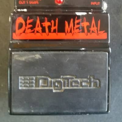 Digitech Death Metal Distortion Pedal ***FREE SHIPPING*** for sale