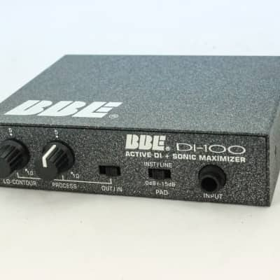 BBE DI-100 Active DI With Sonic Maximizer
