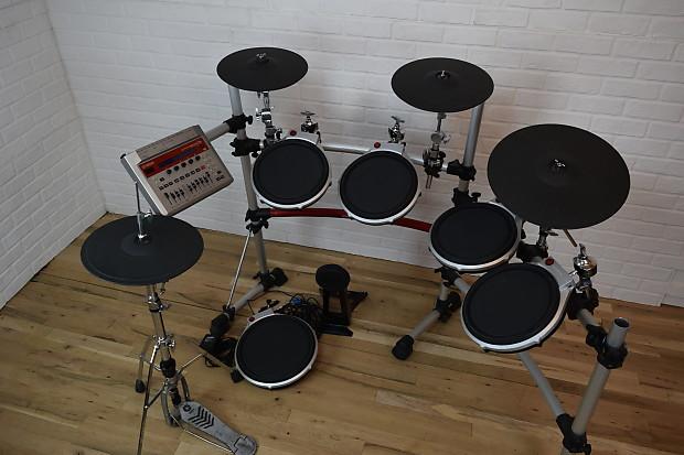 yamaha dtxtreme iis electronic drum set kit excellent used reverb. Black Bedroom Furniture Sets. Home Design Ideas