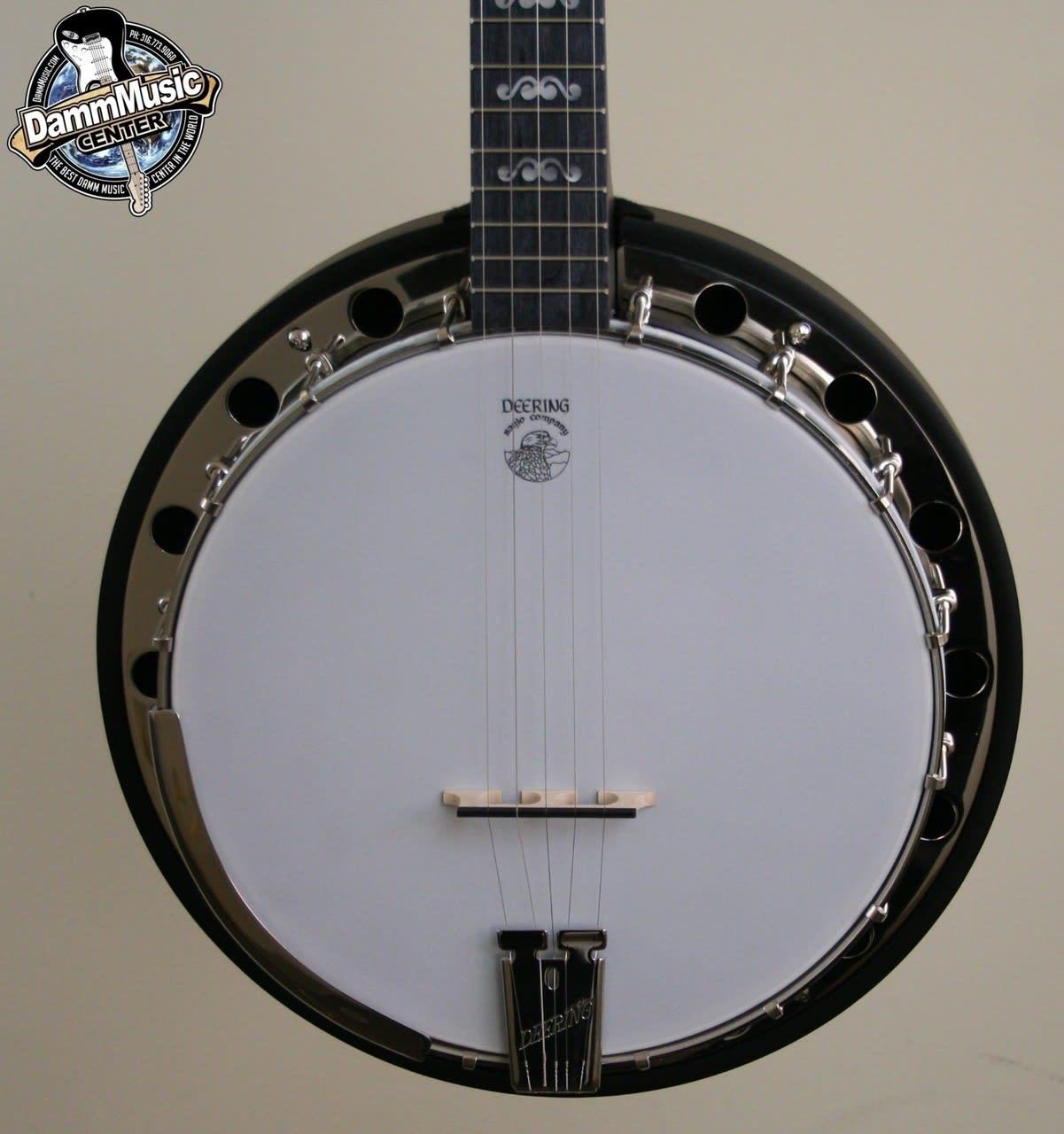 Deering Artisan Goodtime Speical Banjo with Resonator   Reverb
