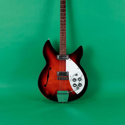 Rickenbacker Model 1997 Rose Morris 1966 Dark Red Sunburst for sale