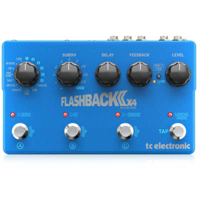 TC Electronic Flashback 2 X4 Delay Pedal for sale