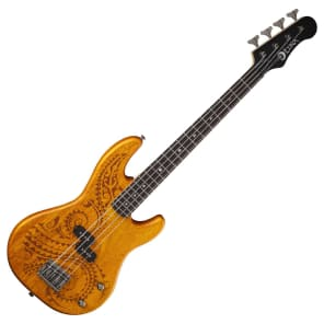 Luna Tattoo Short Scale Bass Natural